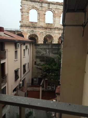 Hotel Milano & Spa: View from room 301