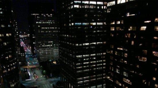 Hyatt Regency Houston: View from the room at night