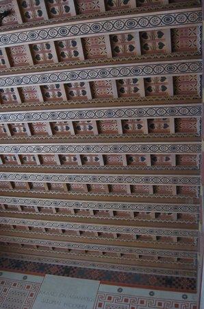 Villa Kérylos : Villa Kerylos - ornate ceiling