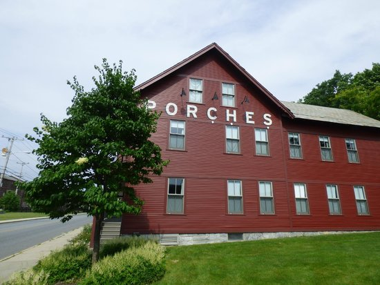 The Porches Inn at MASS MoCA: You're here