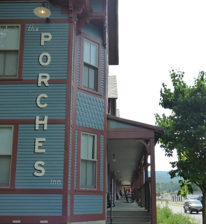 The Porches Inn at MASS MoCA: And at the other end