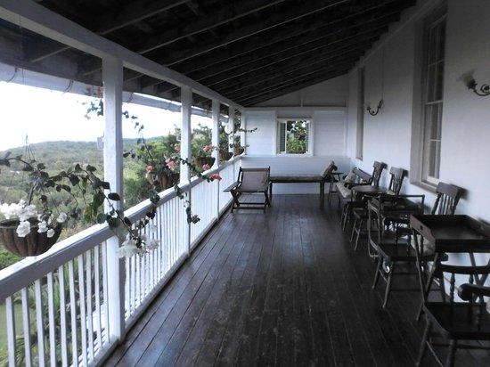 Greenwood Great House: 17ft long verandah