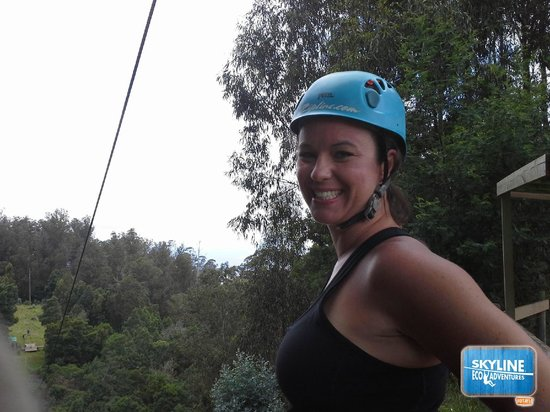 Skyline Eco-Adventures Zipline Tours: Such a fun time!!!