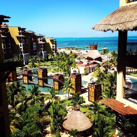 Villa del Palmar Cancun Beach Resort & Spa: From 3rd floor room 2305a