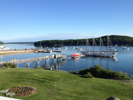 Spa at Bar Harbor Inn : One of the many views from the property