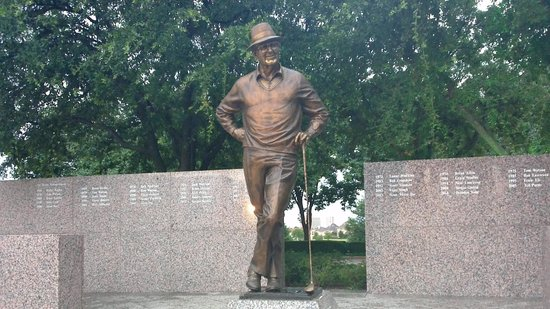 Four Seasons Resort and Club Dallas at Las Colinas: Lots of Golf History - Byron Nelson Classic