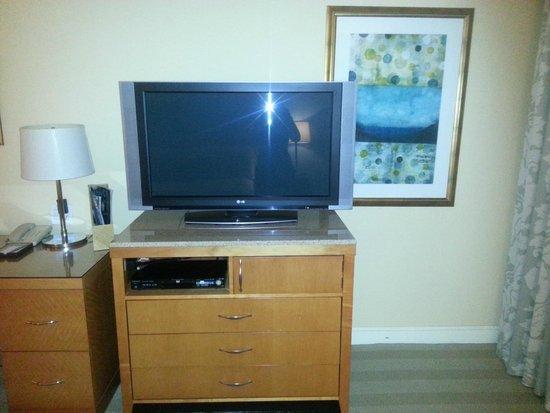 Hotel Amarano Burbank: tv