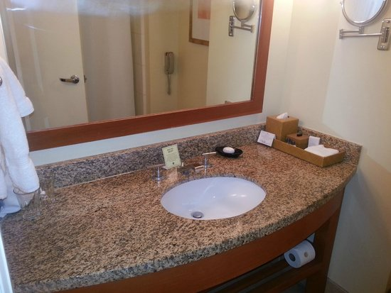 Hotel Amarano Burbank: bathroom
