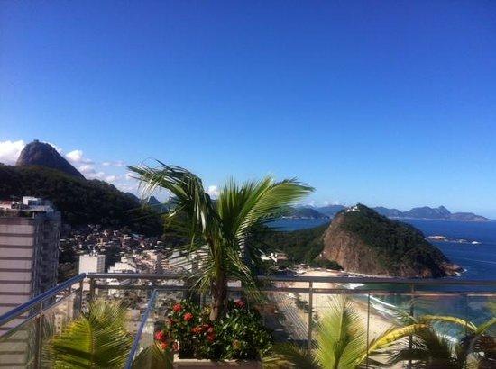 Hilton Rio de Janeiro Copacabana: Vista piscina