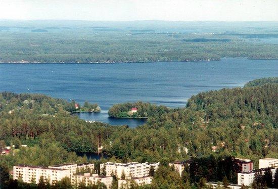 Kuopio - vista da Torre Puijo