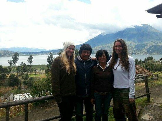 cabin Balcon del Lago : A teary goodbye.  :'(