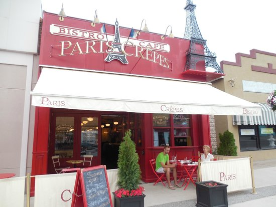 Paris Crepes Cafe: French Restaurant