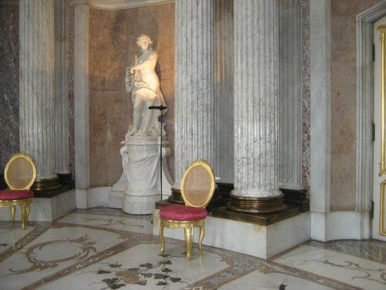 Sanssouci Palace: entertaining romm