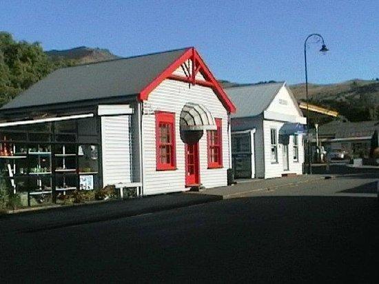Catholic St. Patrick's Akaroa : french village  near Christchurch