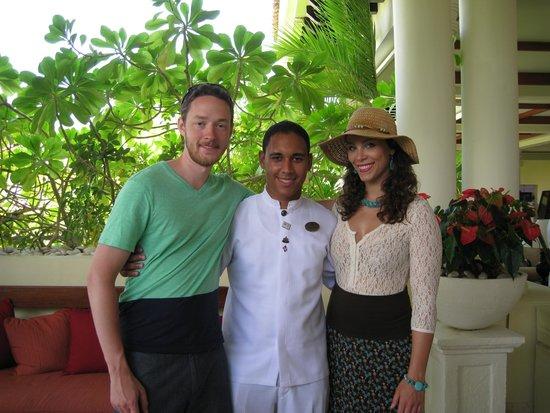 Paradisus Palma Real Golf & Spa Resort: Johnfi Rivera was a great butler.