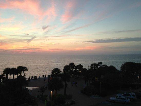Sabal Palms Inn: gulf sunset