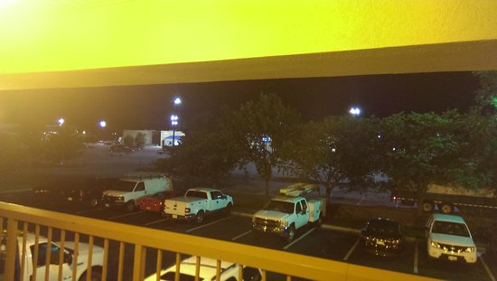 Best Western Lumberton: view of the supercenter out the door