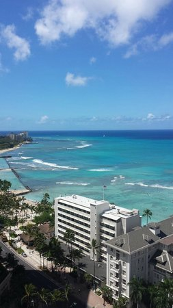Sheraton Princess Kaiulani: Great view