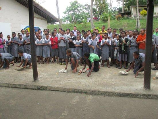Shangri-La's Fijian Resort & Spa: The local school