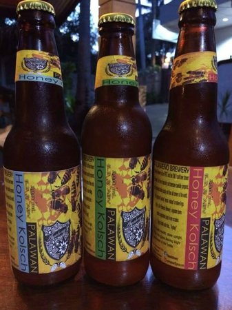 Special Palaweño Brewery beers brewed only for Matutina Pensionne