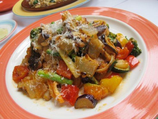 Papamio: 蔬菜義大利面