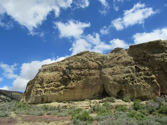 White Mountain Petroglyphs : White Mountain Petroglyph Area - Wyoming