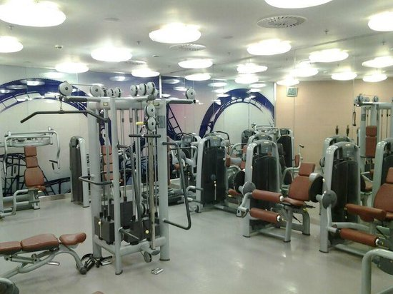 InterContinental Athenaeum: The Gym