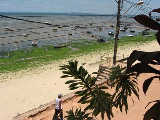Beira Mar B&B : la playa en época de marea baja