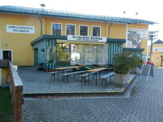 Salzburger Altstadt: Наземная станция канатной дороги