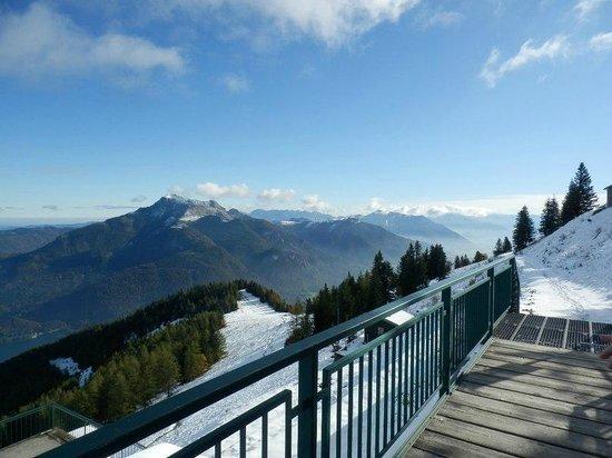 Salzburger Altstadt: Вид на горные вершины Альп