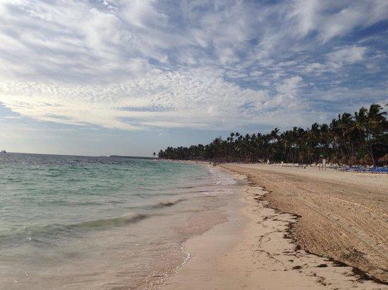 Melia Caribe Tropical: The beach