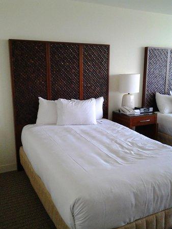 Hyatt Regency Sarasota: Headboard double beds