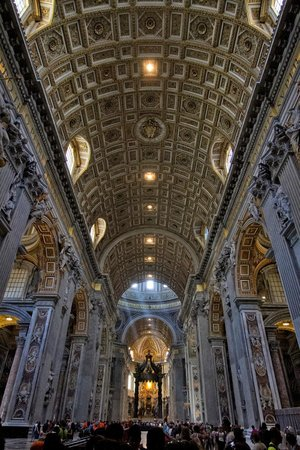 Tours of the Vatican with Tom & his Team : St. Peter's Basilica