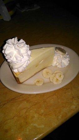 The Cheesecake Factory: Banana cream cheesecake