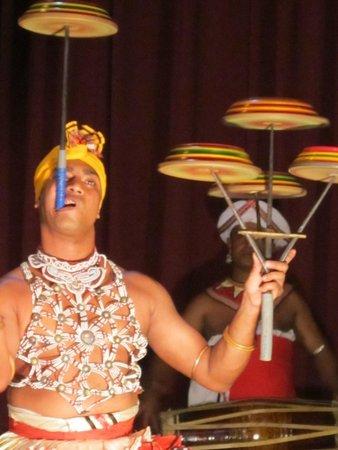 Kandyan Dance Performance: Masterful twirling
