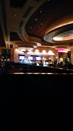 The Cheesecake Factory: View from our booth