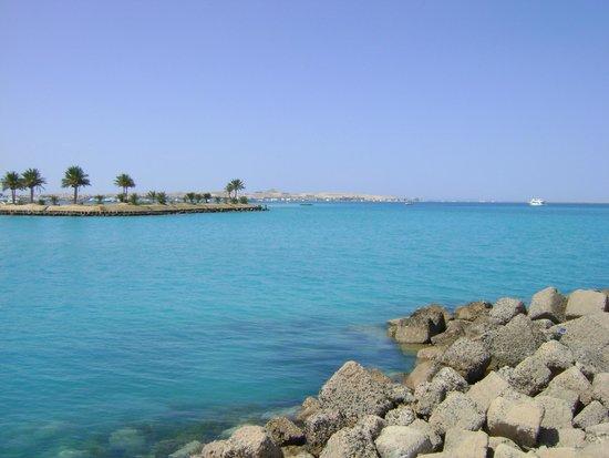 Hilton Hurghada Resort : Plage