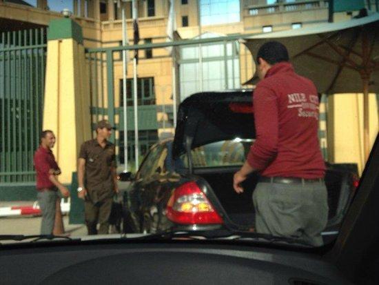 Fairmont Nile City: security