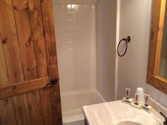 Redfish Lake Lodge : Bathroom