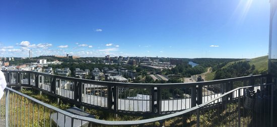 Park Inn by Radisson Stockholm Hammarby Sjostad: rooftop view
