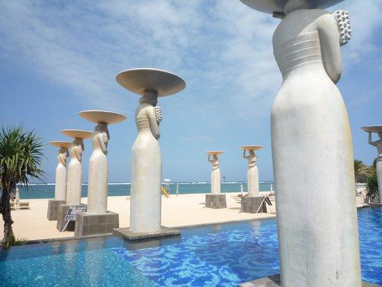Mulia Villas: カバナからの眺め