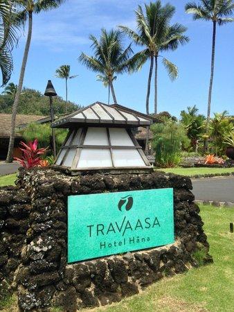 Travaasa Hana, Maui: Front entrance