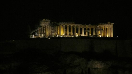 InterContinental Athenaeum: Akropolis manzaralı otel