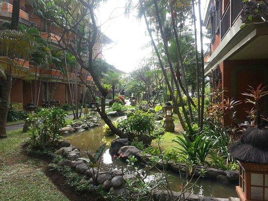 Adi Dharma Hotel : Gardens