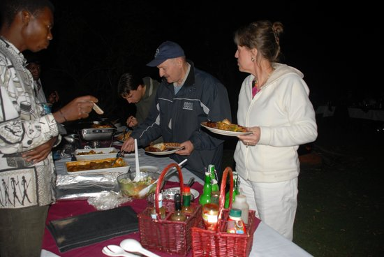 Greylingstad, Sudáfrica: Bush BBQ.... What a feast