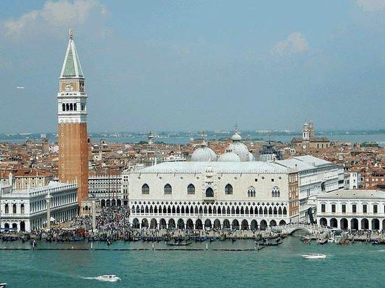 San Giorgio Maggiore : Panorama su Piazza S.Marco