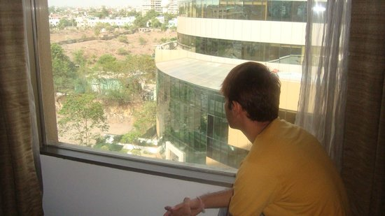 Royal Orchid Central Pune: view from window
