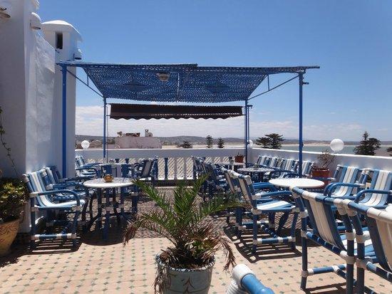 Al Fath Hotel: Rooftop terrace