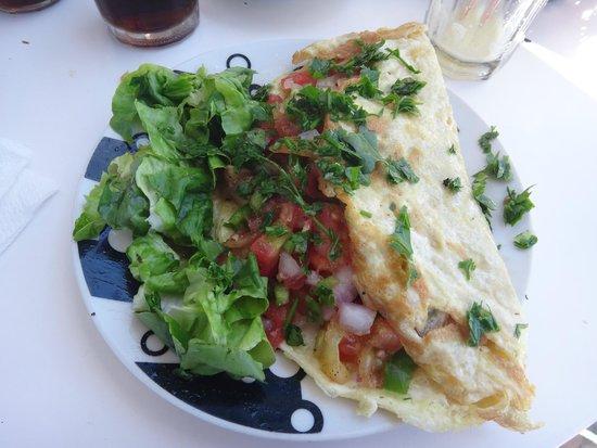 Al Fath Hotel: Fresh and tasty omelette