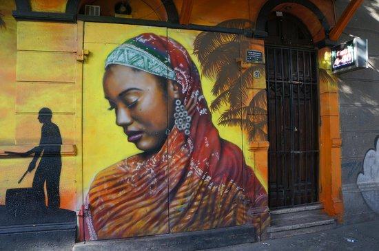 Bellavista: Уличная живопись